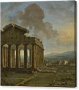 Paestum Canvas Print