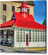 Pagoda Gas Station Canvas Print