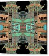 Pagoda Tower Becomes Chinese Lantern 1 Chinatown Chicago Canvas Print