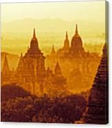 Pagodas Canvas Print