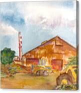 Paia Mill 3 Canvas Print