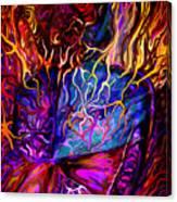 Pain Slow Death Five Canvas Print