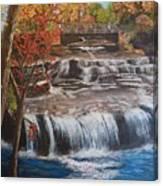 Paine Falls Canvas Print