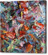Paint Number 42-a Canvas Print