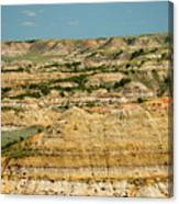 Painted Canyon Canvas Print