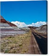 Painted Desert Road #3 Canvas Print