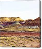 Painted Desert Winter 0602 Canvas Print