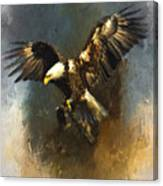Painted Eagle Canvas Print