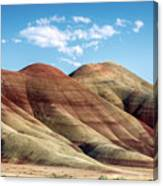 Painted Hills Colors Canvas Print