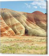 Painted Hills Pano 1 Canvas Print