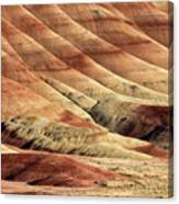 Painted Hills Textures Canvas Print