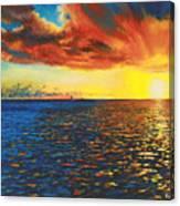 Painted Horizon Canvas Print