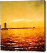 Painted In Waterlogue Canvas Print