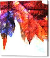 Painted Leaf Series 4 Canvas Print