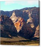Painted Mountains Canvas Print