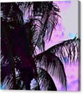 Painted Palms 4 Canvas Print