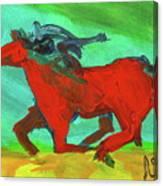 Painted Ponies - Spirit Rider Canvas Print