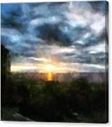 Painted Skies 01 Canvas Print