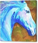 Painted Stallion Canvas Print