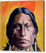 Painted Tears Canvas Print