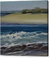 Painting Happy Valley Caloundra Qld Plein Air Painting Canvas Print
