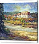 Painting In New Mexico Canvas Print