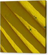 Painting It Yellow Canvas Print
