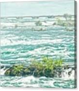 Painting Of Niagara Falls Canvas Print
