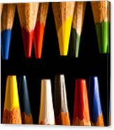 Painting Pencils Canvas Print