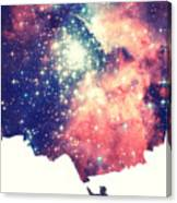 Painting The Universe Awsome Space Art Design Canvas Print