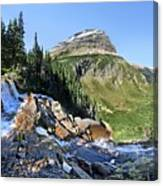 Paiota Falls - Glacier National Park Canvas Print