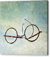 Pair Of Glasses Canvas Print