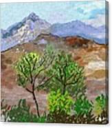 Paisaje- Chile-cerro Campana Canvas Print