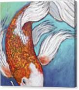 Paisley Koi Canvas Print