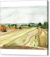 Paizay-le-tort, Au Sud Des Deux-sevres Canvas Print
