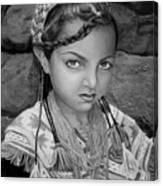Pakistani Girl Canvas Print