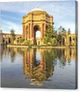 Palace Of Fine Arts - San Francisco Canvas Print