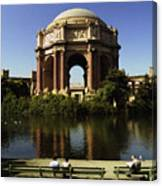 Palace Of Fine Arts Sf 2 Canvas Print
