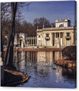 Palace On The Water  Canvas Print