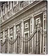 Palacio De San Telmo Facade Canvas Print