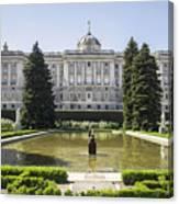 Palacio Real De Madrid Canvas Print