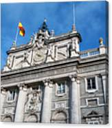 Palacio Real Canvas Print