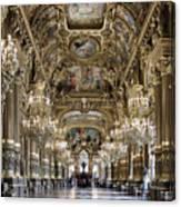 Palais Garnier Grand Foyer Canvas Print