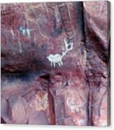 Palatki Site Pictographs Canvas Print