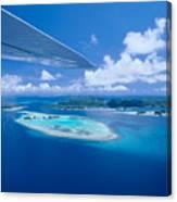 Palau Aerial Canvas Print