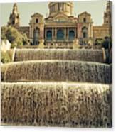 Palau Nacional Barcelona Canvas Print
