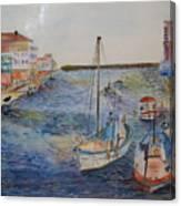 Palavas Canvas Print