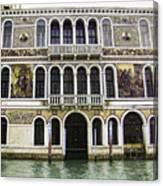 Palazzo Barbarigo Canvas Print