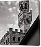 Palazzo Vecchio Tower Canvas Print