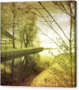 Pale Reflections Of Life Canvas Print